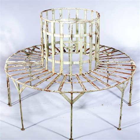 iron benches for outdoor seating wrought iron garden tree bench benches