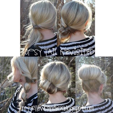 different hairstyles easy and simple 5 different easy hairstyles trusper
