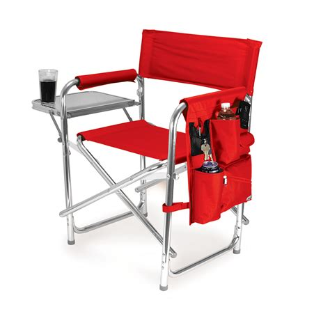 Portable Chairs by Picnic Time Portable Folding Sports Cing Chair