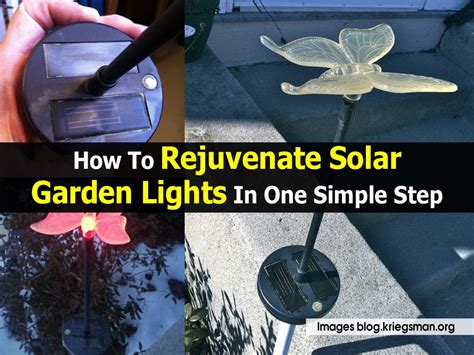 can you replace batteries in solar lights how to rejuvenate solar garden lights in one simple step