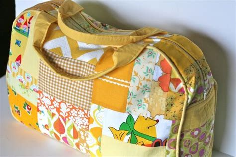 Free Patterns For Patchwork Bags - patchwork duffle bag from ginercake i ve got to make one