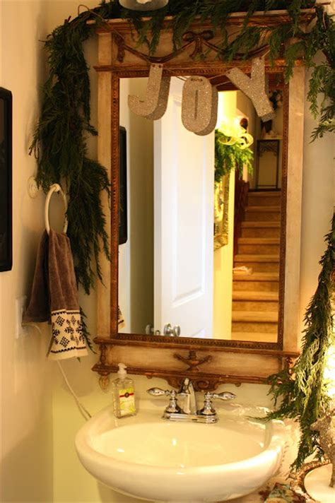 how to decorate your bathroom for christmas remodelaholic holiday decorating ideas for every room in