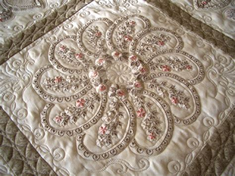 Embroidery On Quilts by Piccadilly Paisley Quilt Blocks Manual Now Available