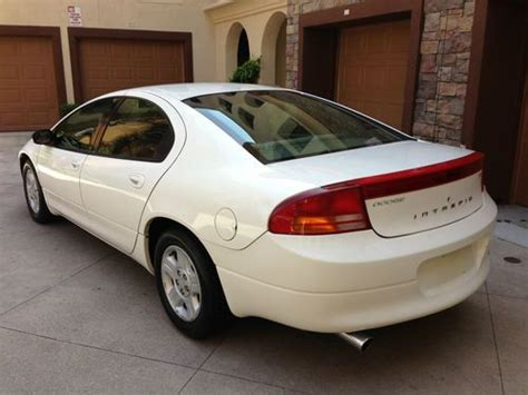 2002 dodge intrepid gas mileage sell used 2002 dodge intrepid se sedan 4 door 2 7l