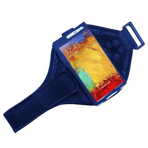 Mesh Cloth Material Sports Armband Ze Ad108 mesh cloth material sports armband for samsung note 2 3 ze ad107 black