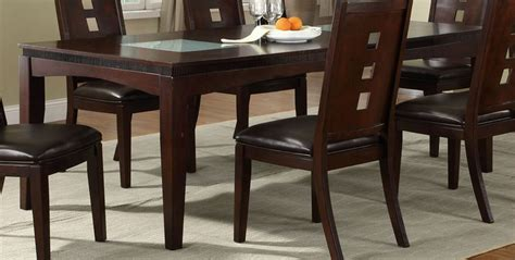 poundex f2165 brown glass dining table a sofa