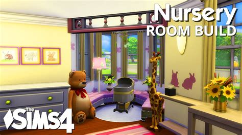 Toddler Bedroom Ideas by The Sims 4 Room Build Nursery Youtube