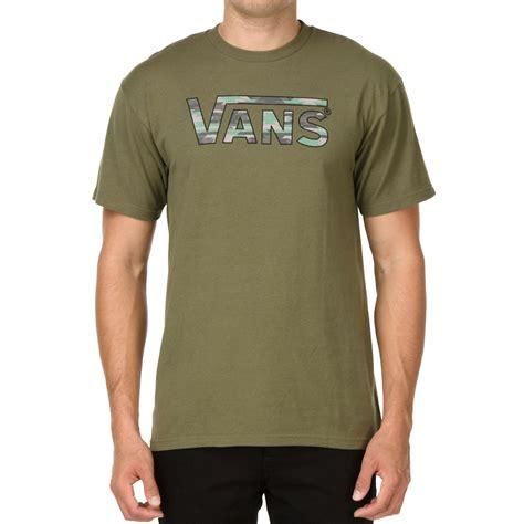 Sweater Vans Army Vans Classic Fill T Shirt Green Camo