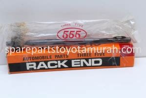 Rack End Tie Rod Merk 555 Japan Mazda 2fiesta Harga Satuan rack end 555 japan soluna