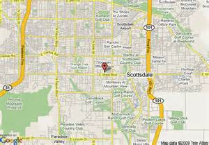 us map scottsdale arizona map of extended stay deluxe scottsdale scottsdale