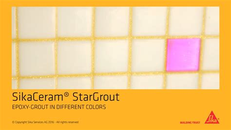 epoxy grout colors sikaceram 174 stargrout epoxy grout in different colors
