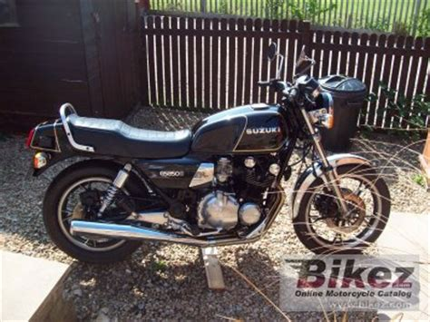 Suzuki Gs850g Review 1987 Suzuki Gs 850 G Specifications And Pictures