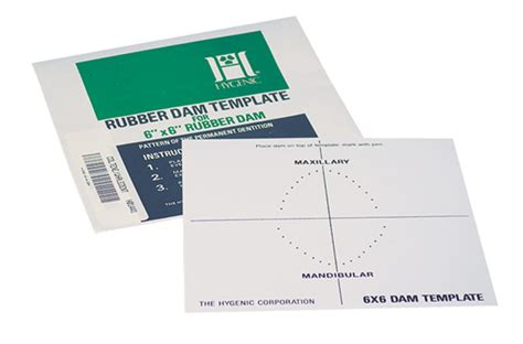 Dental Directory Rubber Dam Template Company Rubber St Template