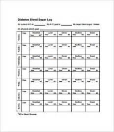 blood sugar chart template blood glucose chart 8 free pdf documents