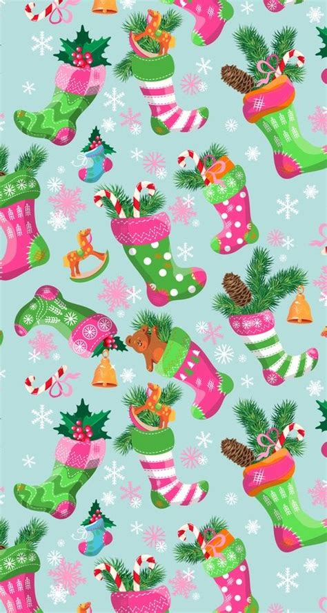 christmas pattern we heart it best 25 christmas wallpaper ideas on pinterest