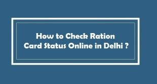 how to make ration card in delhi register fir in delhi for lost article documents 2018