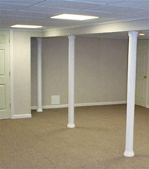 basement column wraps basement remodeling sumner wi