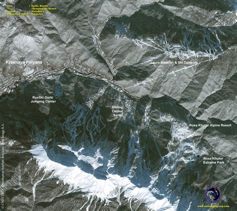 Pci Geomatica 2014 Sle Files Processing Satellite Image Aerial pleiades 1a satellite image sochi ski resort satellite imaging corp