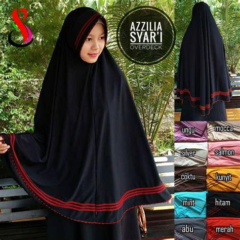 Jilbab Syari Bergo Tangan Fatimah Grosir Jilbab Instan Pj Segi kerudung azzilia syar i sentral grosir jilbab kerudung i supplier jilbab i retail grosir