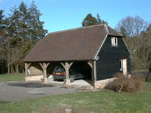 Barn Garages Sussex Barn Garage The West Sussex Antique Timber
