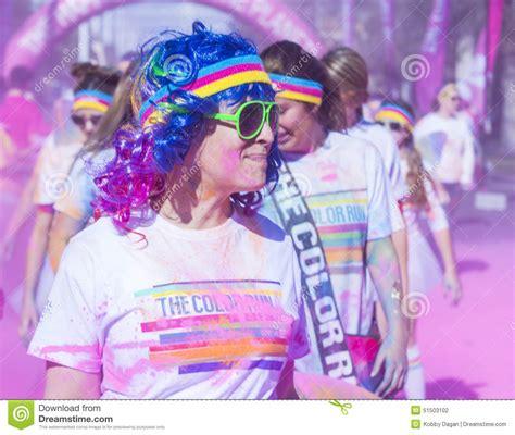 the color run las vegas color run las vegas editorial photography image 51503102