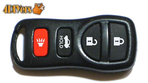 changing the battery in a nissan key fob diy nissan keyless remote battery replacement