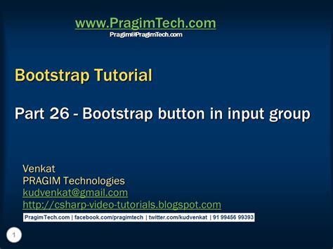 tutorial bootstrap asp net sql server net and c video tutorial bootstrap button