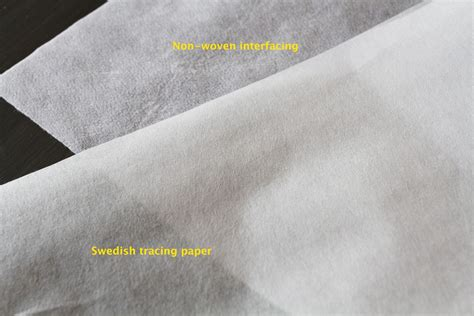 How To Make Tracing Paper - how to preserve a pattern swedish tracing paper