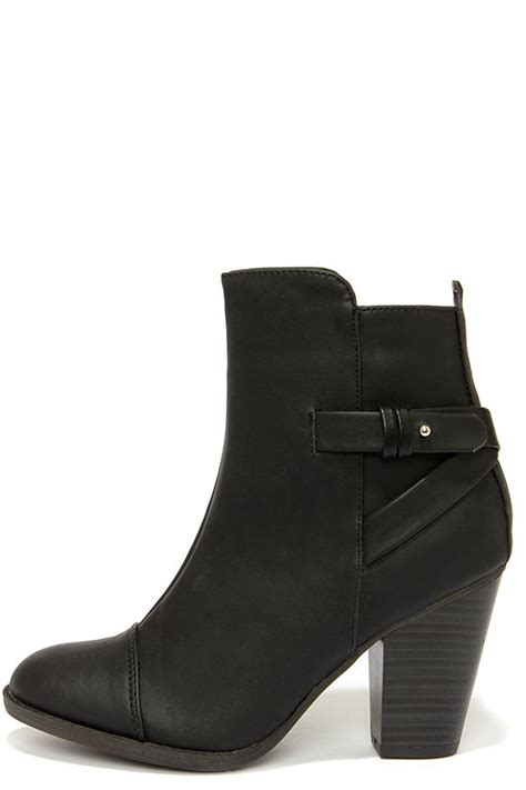 high heel black ankle boots black boots high heel boots ankle boots 38 00