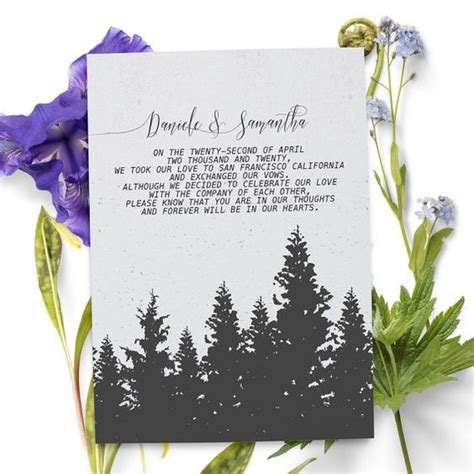 Wedding Announcement Ideas by The World S Catalog Of Ideas