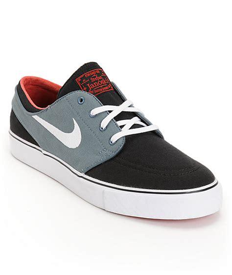 Nike Sb Stefan Janoski Canvas Navywhite nike sb zoom stefan janoski black navy skate shoes at zumiez pdp
