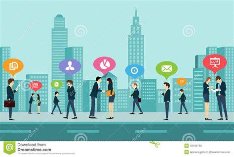 Social Work Business social work business communication stock vector image