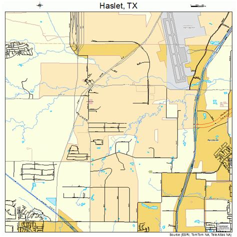 map of haslet texas haslet texas map 4832720