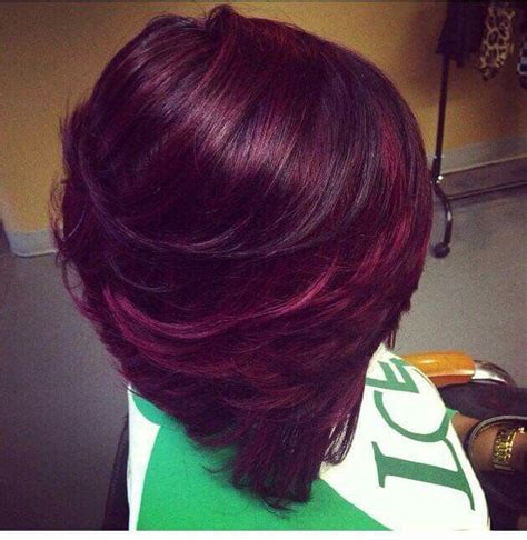 plum burgyndy bob hairstyle 20 best goldwell color images on pinterest hair color
