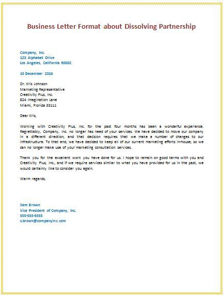 Sle Letter Service No Longer Needed Best 25 Business Letter Ideas On Business Letter Format Business Design And