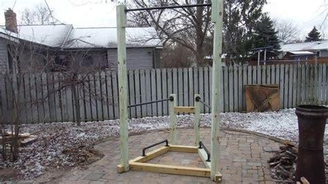 build  simple backyard bodyweight gym youtube