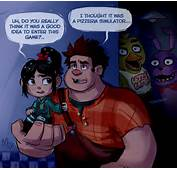 Wreck It Ralph At Freddys By Mistrel Fox  Five Nights