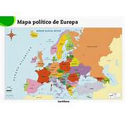 Mapa Esquematico De Europa