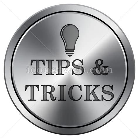 icon design tips tips and tricks icon imitating metal with carved design