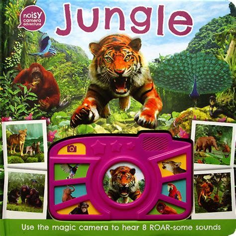In The Jungle Sound Boardbook With Touch And Feel jungle noisy adventure sound board book with 8