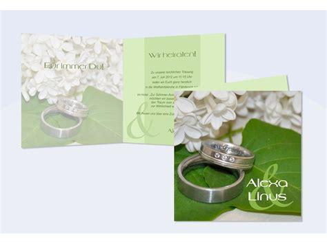 Einladung Hochzeit Flieder by Hochzeitskarte Hochzeitseinladung Einladung Hochzeit