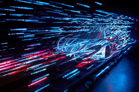 amazing lights mclaren automotive sculpts future hypercar in light yatzer