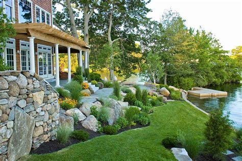 landscape home hill landscape design ideas icontrall for