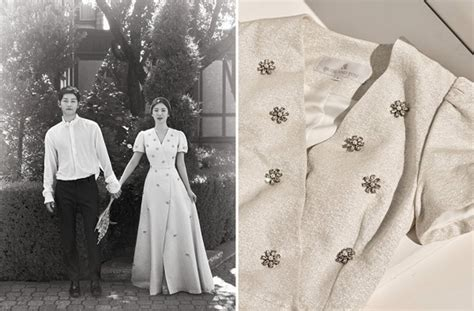 korean fashion brand  gown worn  song hye kyo