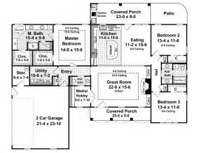 Nice House Plans Single Story 2000 Sq Ft #2: 2-200m.gif