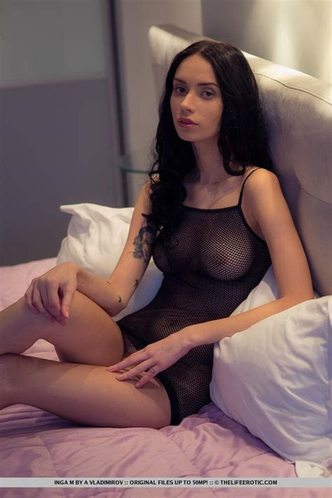 Inga M Strips Completely Naked To Offer You Her Beautiful Nude Body Coed Cherry
