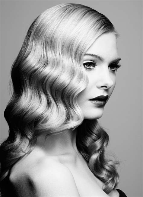 stylish retro wavy hairstyle tutorials  hair