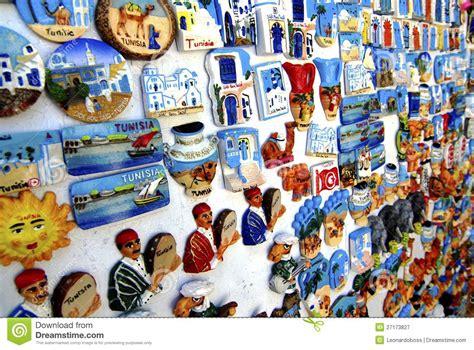 Model House Decoration tunisian souvenir magnet editorial photography image