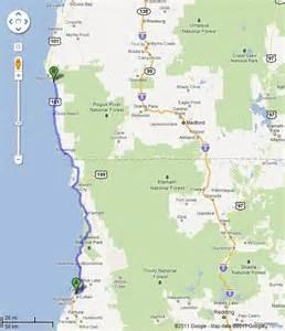 california here i come oregon coast redwoods back
