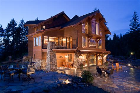 homes in the mountains mountain architects hendricks architecture idaho